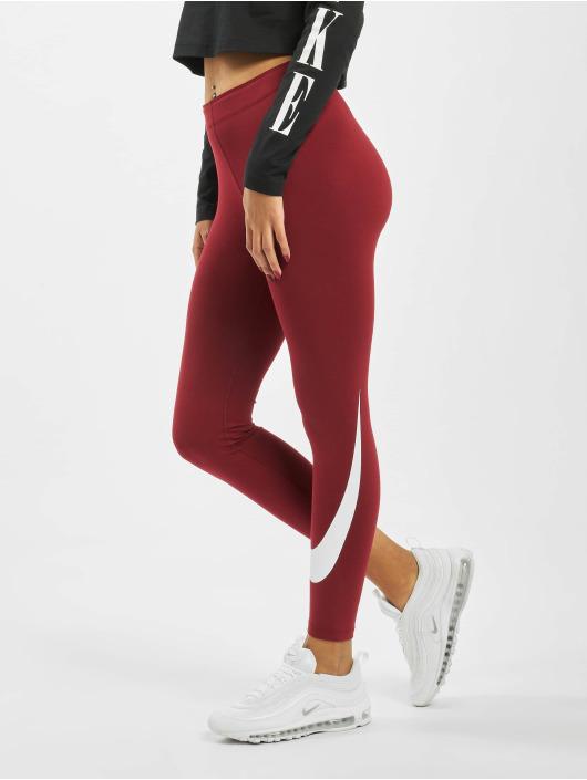 Nike Leggings/Treggings Swoosh red