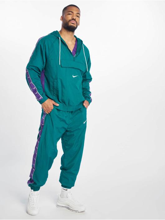 Nike Lightweight Jacket Swoosh Woven turquoise