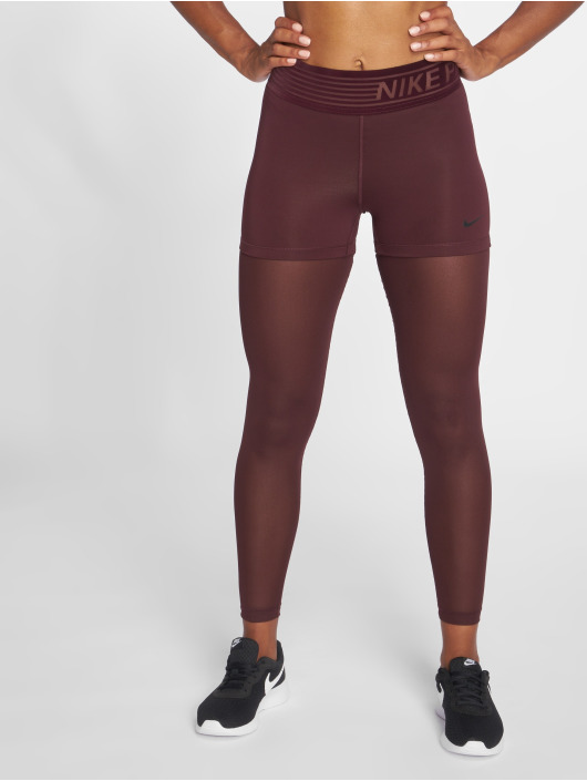 Nike Performance Leggings/Treggings Pro Tights red