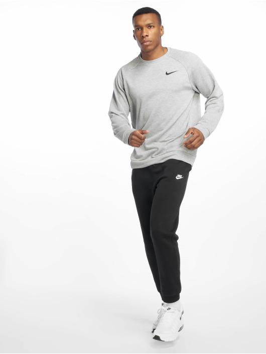 Nike Performance Sport Shirts Dry Fleece Crew gray