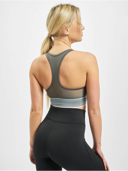 Nike Performance Sports Bra Swoosh Mesh gray
