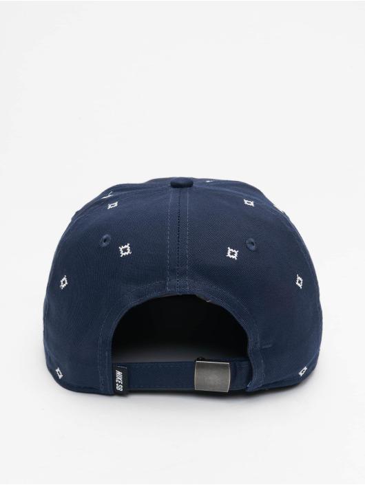 Nike SB Snapback Cap Unstruc FB AOP blue