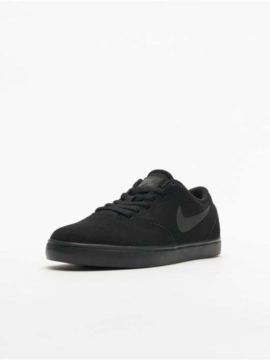 Nike SB Sneakers Check Suede (GS) black