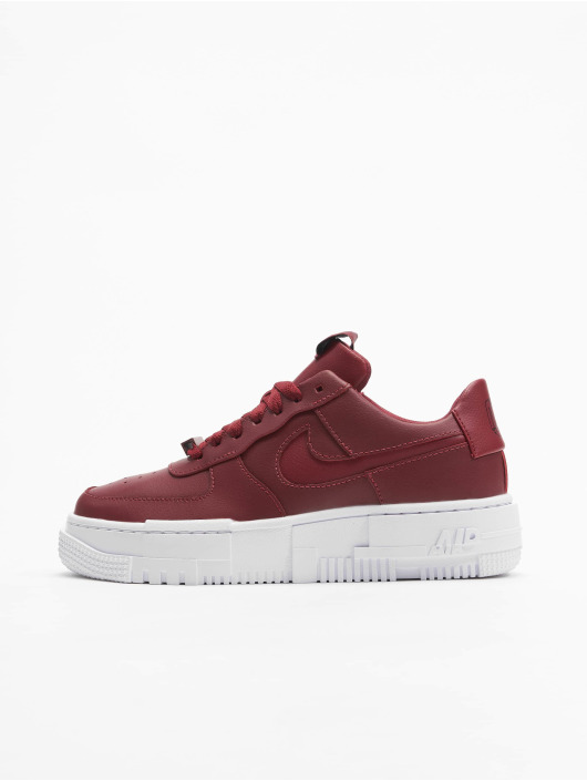 Nike Sneakers AF1 Pixel red