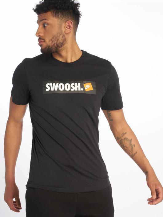 Nike T-Shirt Swoosh Bumper Sticker black