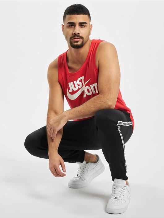 Nike Tank Tops Swoosh red