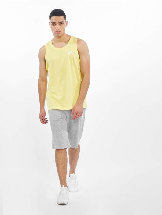 Nike Tank Tops Club Tank Top yellow
