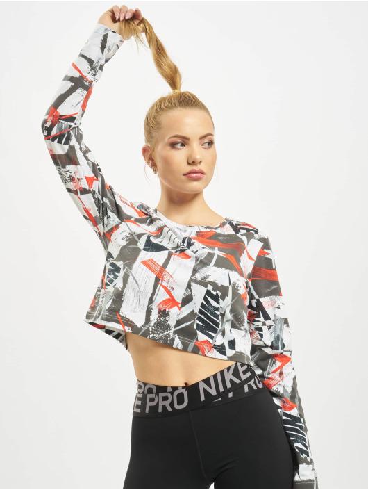 Nike Top LS AOP red