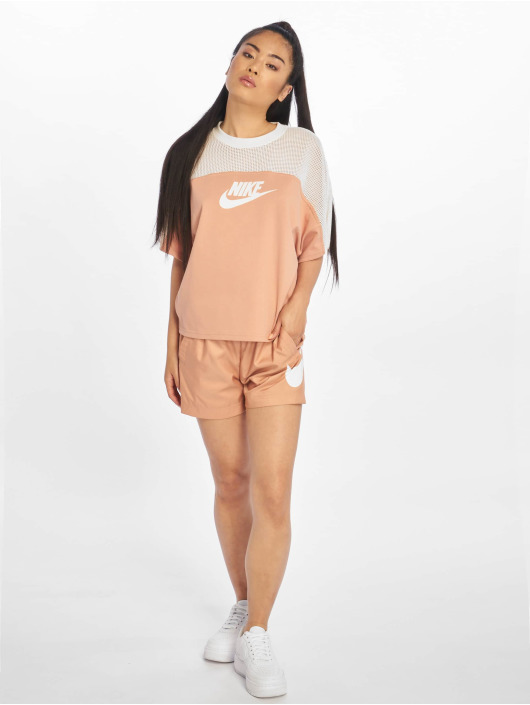 Nike Top SS Mesh rose