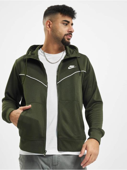 Nike Zip Hoodie Repeat PK Full Zip khaki