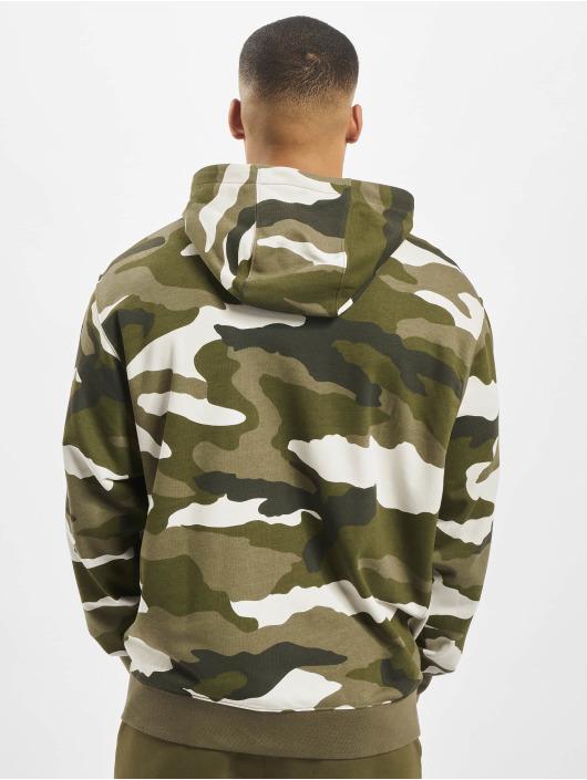 Nike Zip Hoodie Club FZ FT Cam olive