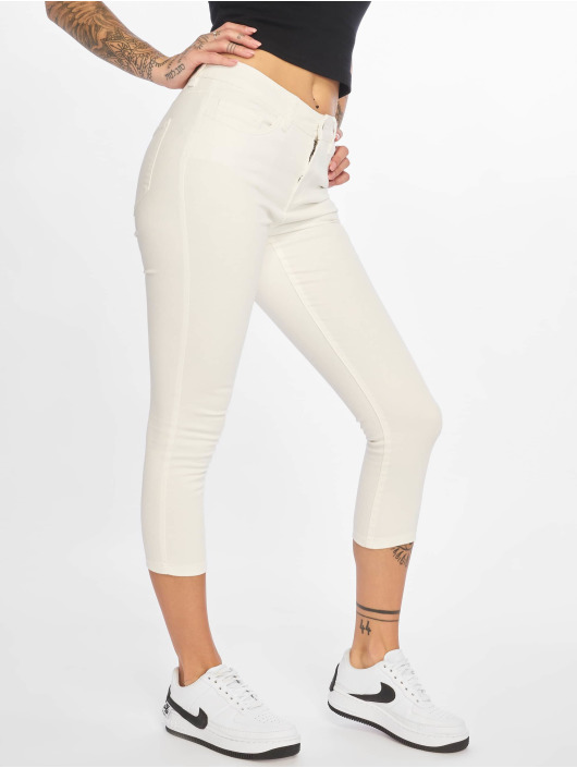 Noisy May Chino pants nmLucy white