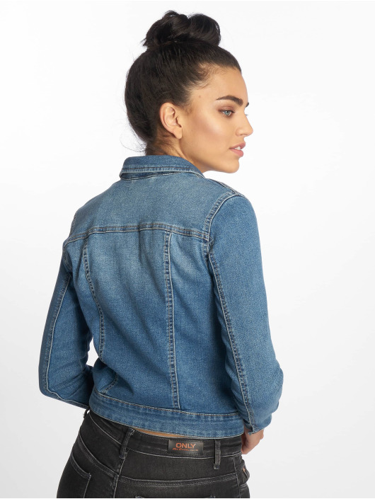 Noisy May Denim Jacket nmDebra Noos blue