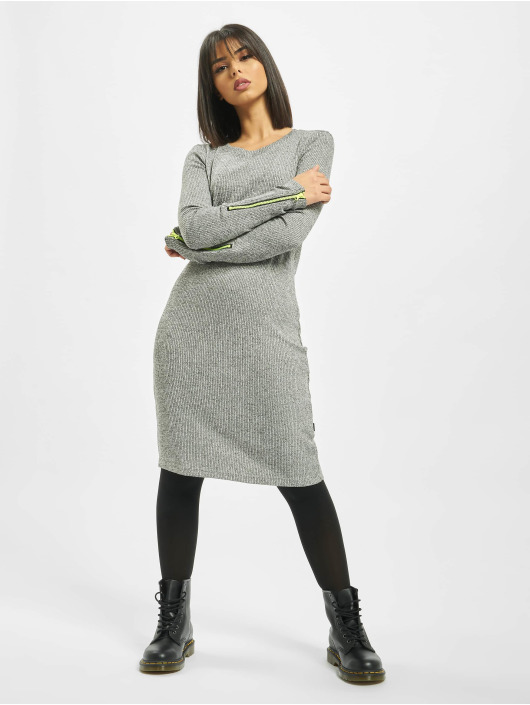 Noisy May Dress nmLene gray