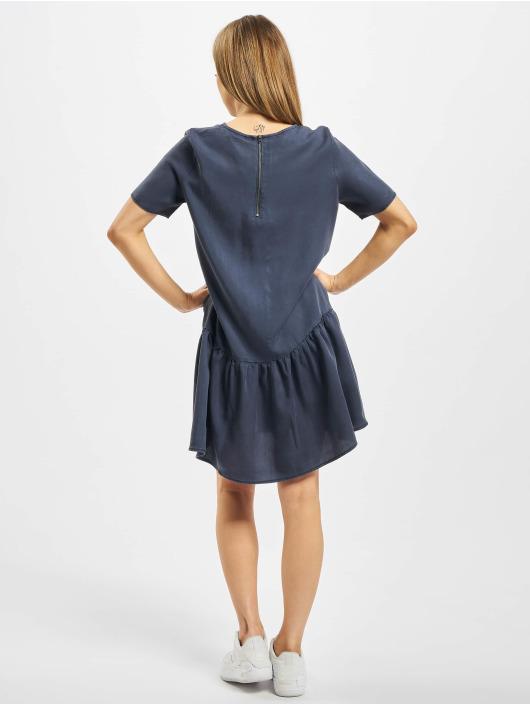 Noisy May Dress nmEmilia Sendi Peplum indigo