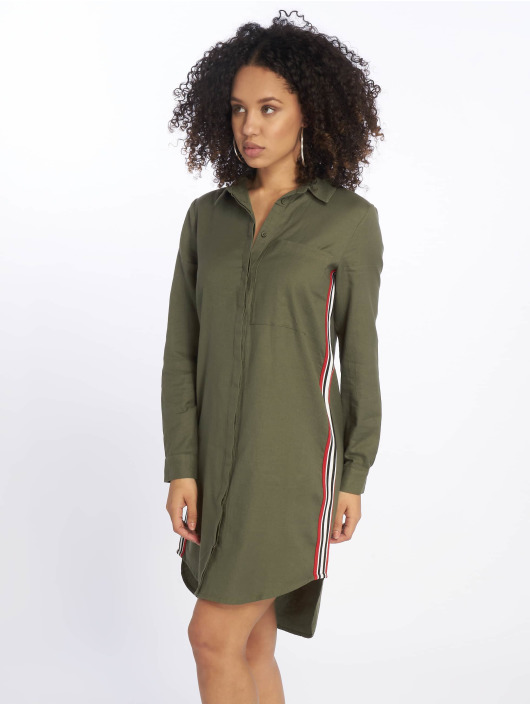 Noisy May Dress nmCurtis olive