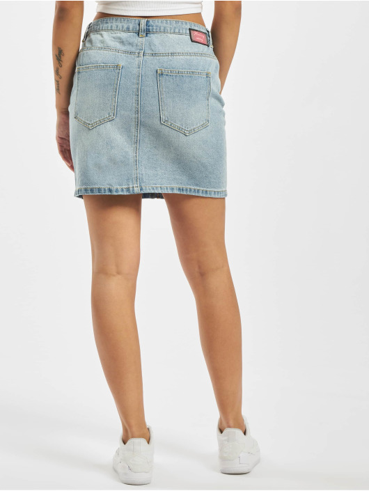 Noisy May Skirt nmAyla Nw Short Zip blue