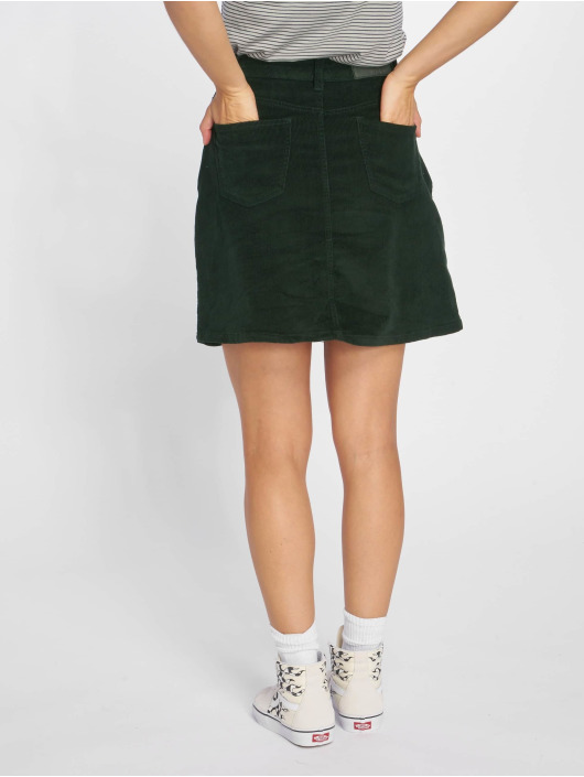 Noisy May Skirt nmSunny Corduroy Skater green