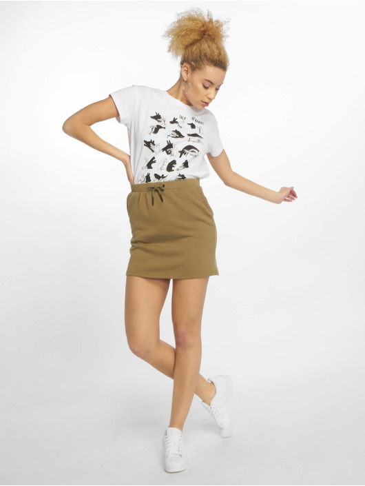 Noisy May Skirt nmSilla olive