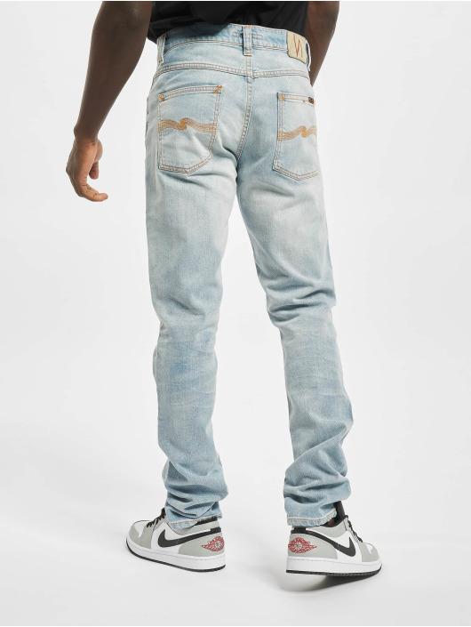 Nudie Jeans Straight Fit Jeans Lena Dean blue