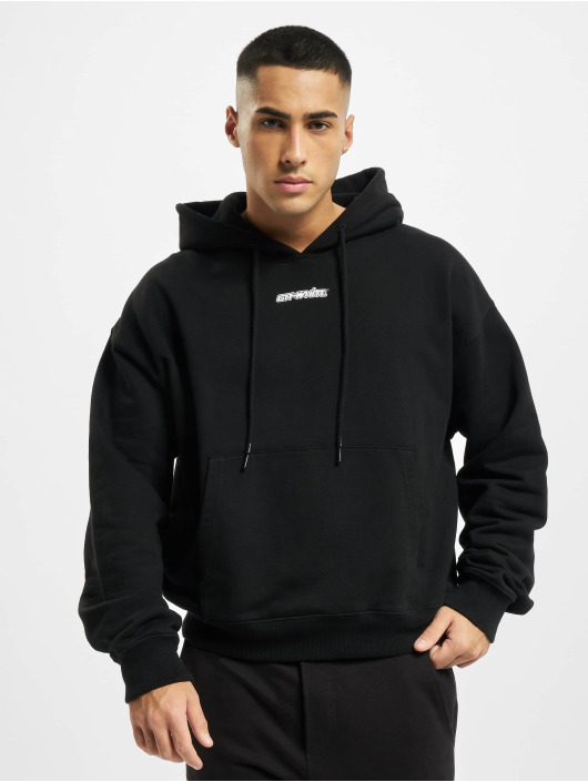 Off-White Hoodie Marker Over black