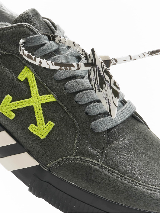 Off-White Sneakers Low Vulc Substainable Leather gray