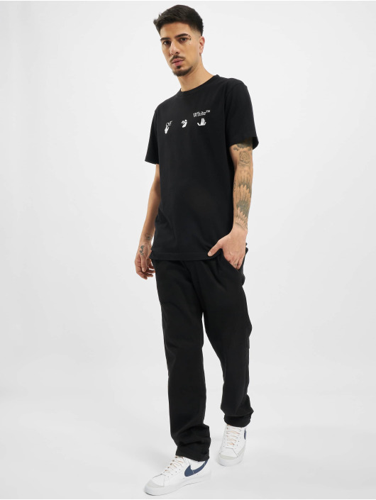 Off-White T-Shirt New Logo black