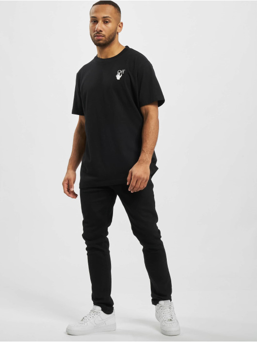 Off-White T-Shirt  black