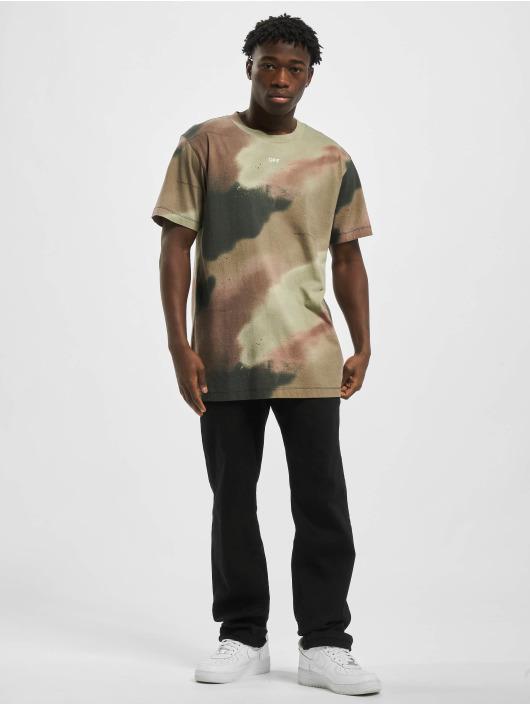 Off-White T-Shirt Stencil camouflage