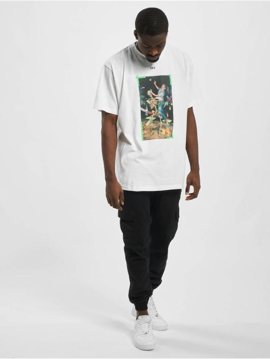 Off-White T-Shirt Pascal Print green