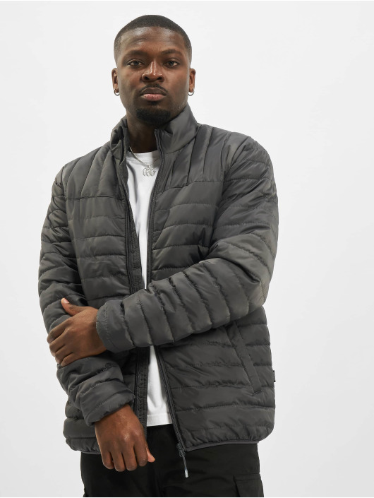 Only & Sons Lightweight Jacket onsPaul Quilted Highneck gray