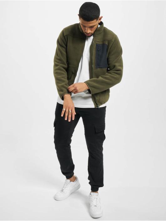 Only & Sons Lightweight Jacket onsHike Fleece olive