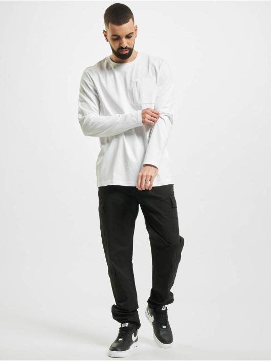 Only & Sons Longsleeve onsMakhi Life Reg Pocket white