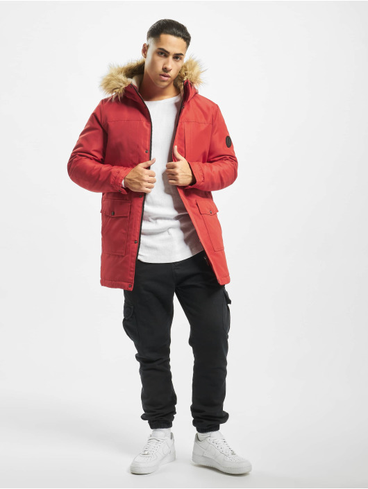 Only & Sons Parka onsBasil red