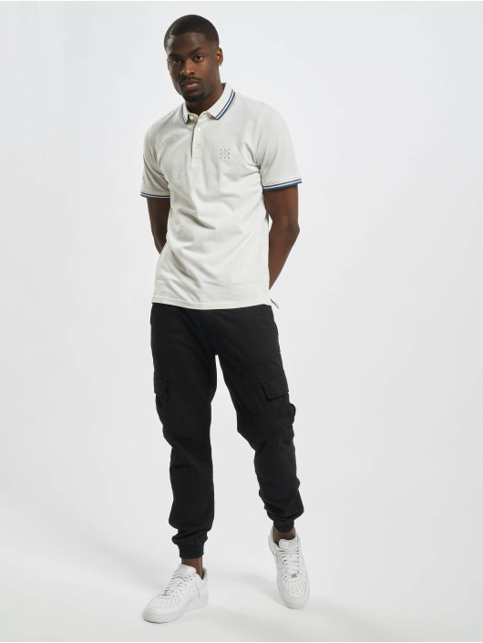 Only & Sons Poloshirt onsStan Life Fitted Noos white
