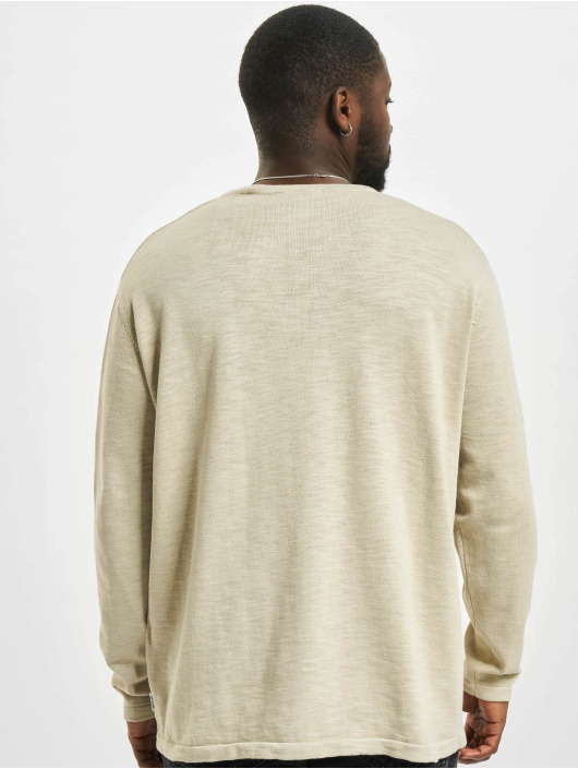 Only & Sons Pullover onsAlan Life 12 Slub Relaxed Fit beige