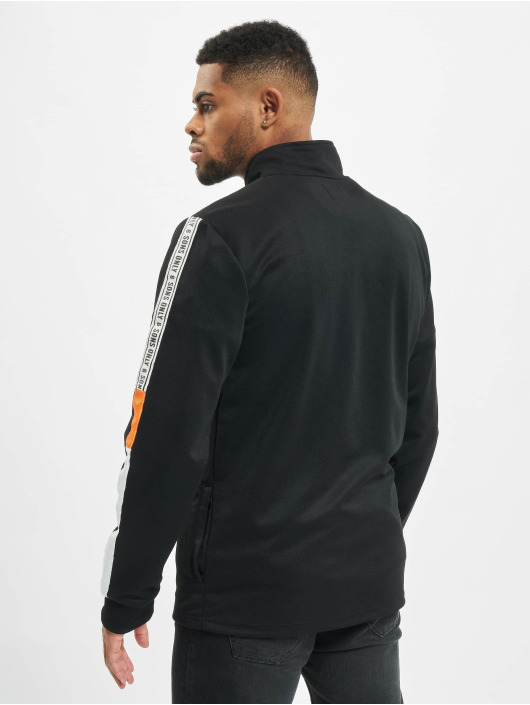 Only & Sons Pullover onsVP Tracker Poly High Neck Zip black