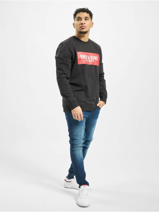 Only & Sons Pullover onsNormie black