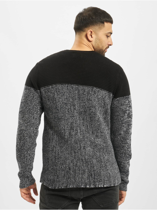 Only & Sons Pullover onsSato 5 Colorblock Knit Noos blue