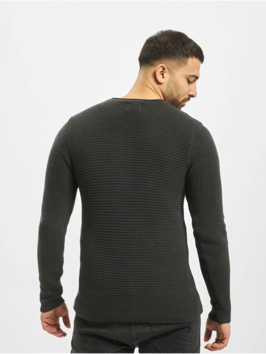 Only & Sons Pullover onsSato 5 Multi CLR Knit Noos blue