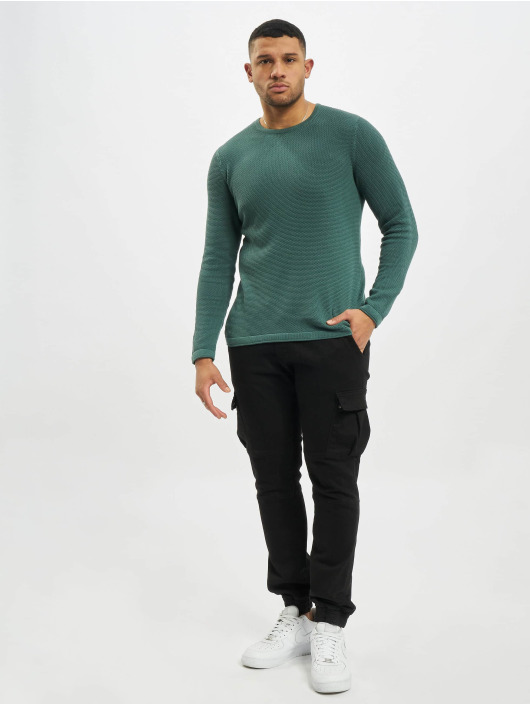 Only & Sons Pullover onsPanter 12 Struc Noos blue