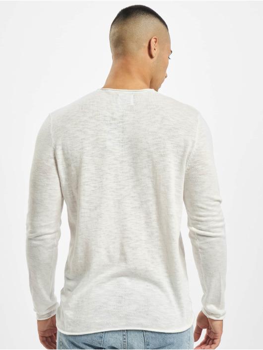 Only & Sons Pullover onsDaren 12 Slub Knit white