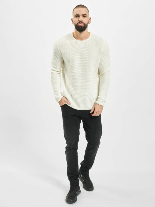 Only & Sons Pullover onsCam 7 Knit white