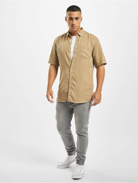 Only & Sons Shirt onsAtlas Life Dyed Tencel beige