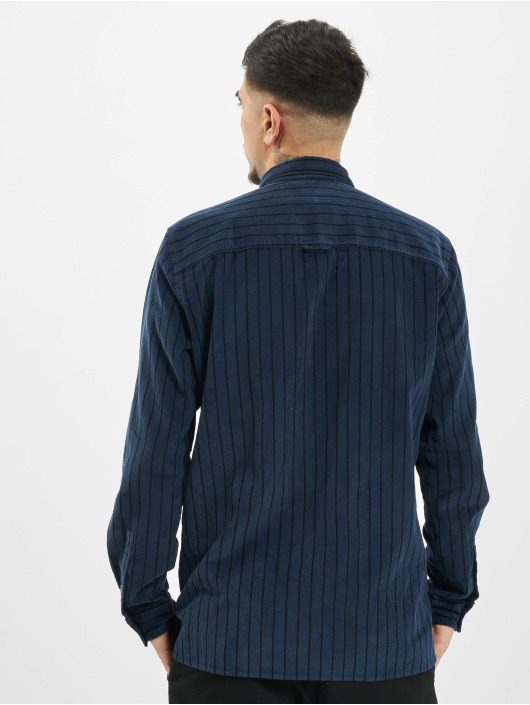 Only & Sons Shirt onsEdward Striped Corduroy blue