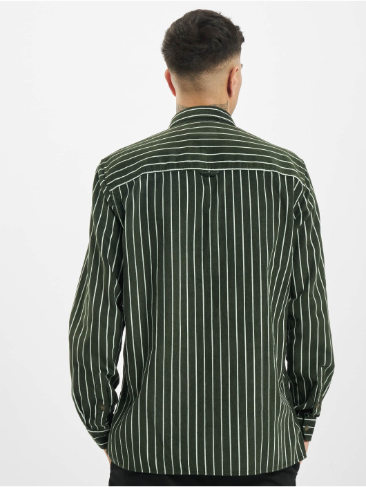 Only & Sons Shirt onsEdward Striped Corduroy green
