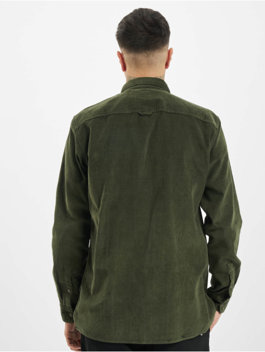 Only & Sons Shirt onsEdward Solid Corduroy green