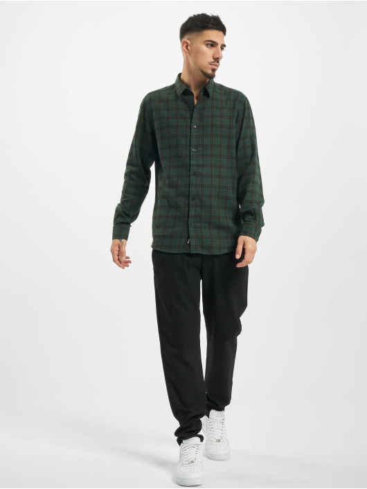 Only & Sons Shirt onsEmil Flannel Check olive