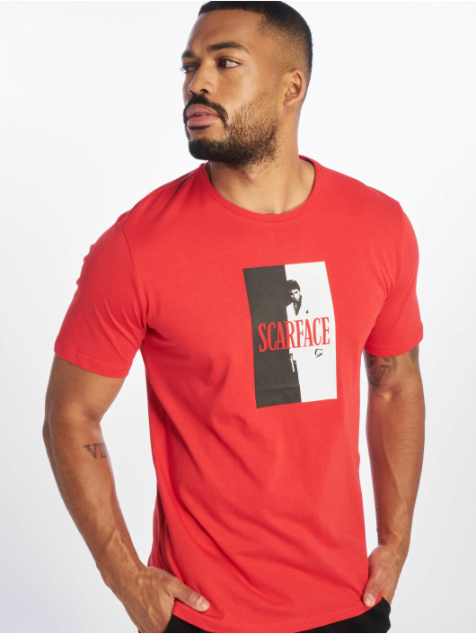 Only & Sons T-Shirt onsScarface Cover red