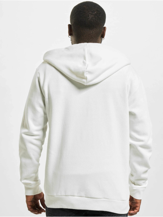 Only & Sons Zip Hoodie onsCeres Life white